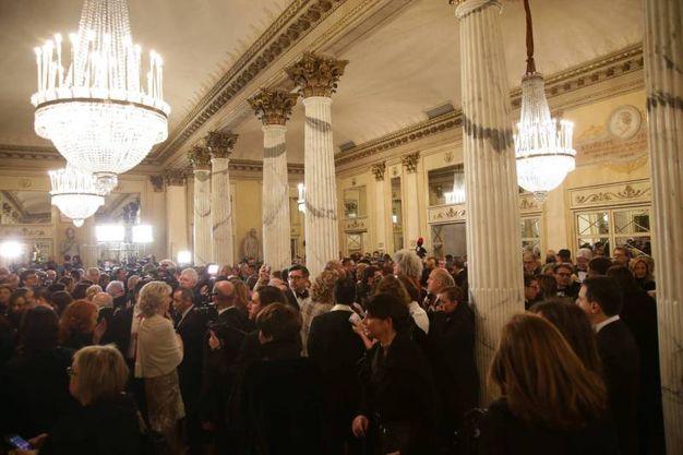 Foyer della Scala per la Prima (Olycom)