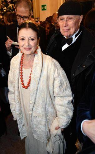 Carla Fracci (Ansa)