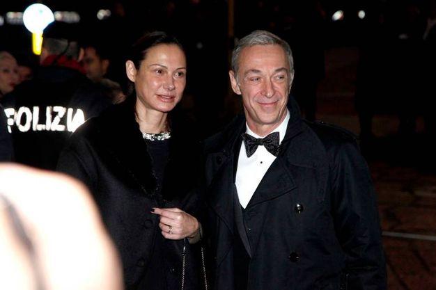 Linus e moglie (Newpress)