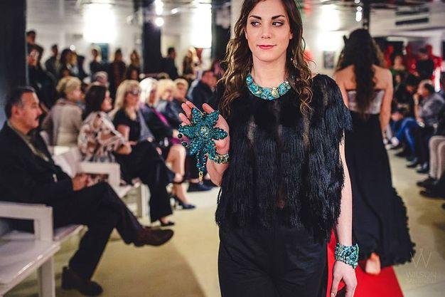 Sfilata Italia-Uzbekistan: i gioielli di Marina Corazziari