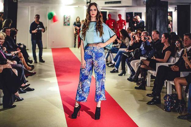 Sfilata Italia-Uzbekistan: le creazioni di Fabiana Gabellini