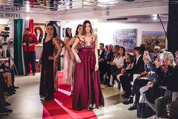 Sfilata Italia-Uzbekistan: le creazioni di Michela Ricci