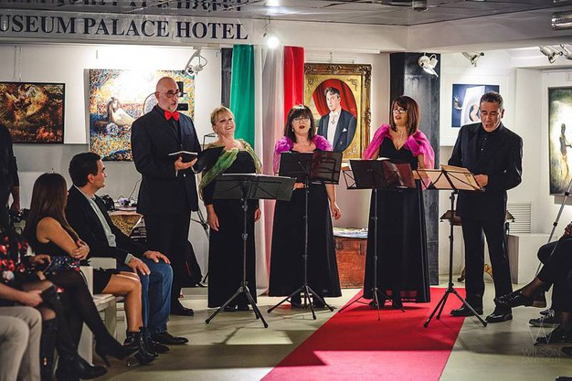 Italia-Uzbekistan: gruppo musicale Quintessenza italiana