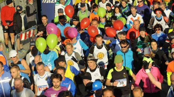 Immagine di repertorio di una maratona