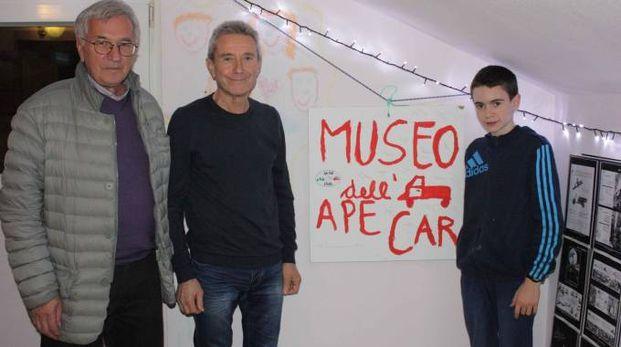 Francesco Bongio. A sinistra con Emilio Rovedatti e Lorenzo Del Barba
