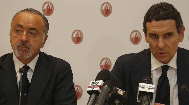 Sono giornate molto intense per il presidente Alessandro Falciai e l'amministratore delegato Marco Morelli