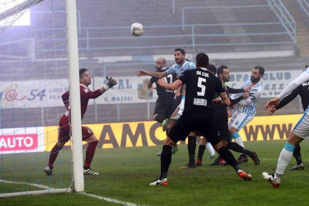 Spal-Spezia, partita intensa e ricca di emozioni al Mazza (foto LaPresse)