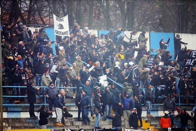 Spal-Spezia, i tifosi della Spal esultano (Foto LaPresse)