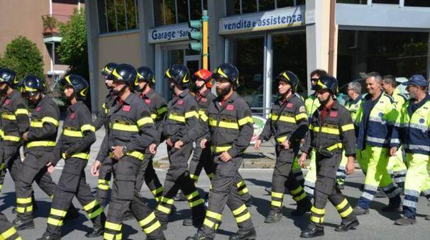 I pompieri volontari di Merate