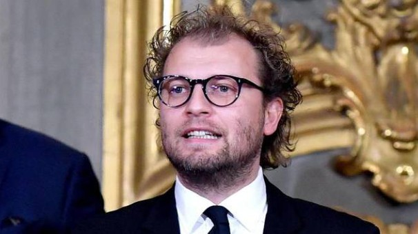 Luca Lotti al giuramento del Governo Gentiloni