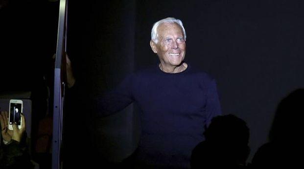 Giorgio Armani (Afp)