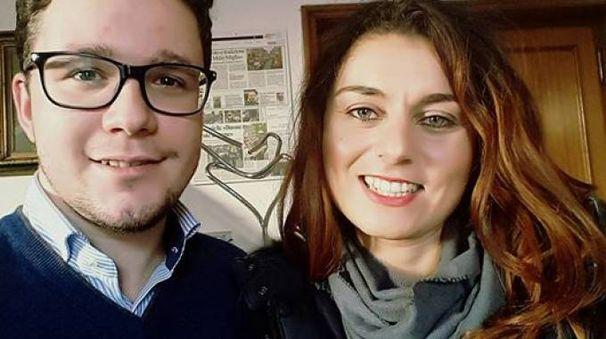 Ex capo gabinetto Lorenzo Gasperini e il sindaco Susanna Ceccardi