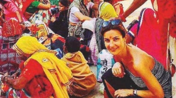 Alessandra Moretti in India per un matrimonio (Instagram)
