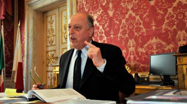 Il sindaco di Lucca Alessandro Tambellini (foto Alcide)