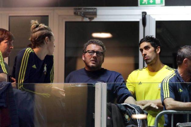 Tensione tra Federica Pellegrini e Filippo Magnini ai campionati italiani invernali di nuoto (Foto Fabrizio Pietrangeli)