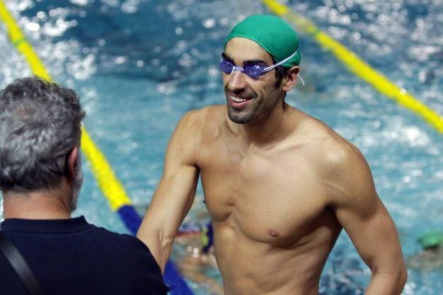 Riccione,  campionati italiani invernali di nuoto (Foto Fabrizio Pietrangeli)