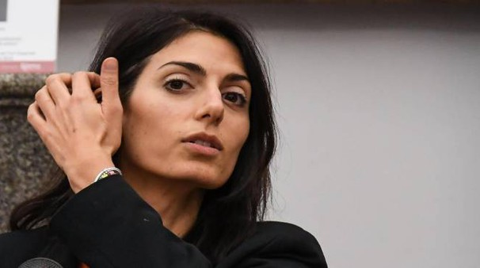 Roma, la sindaca a 5 stelle Virginia Raggi (Ansa)