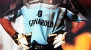 Pagliuca con la maglia del Bologna, erano gli inizi del 2000 (fotoSchicchi)