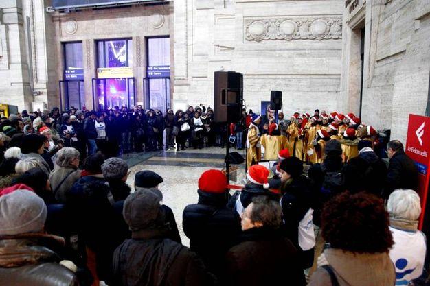 Progetto Arca, concerto gospel in Centrale (Newpress)