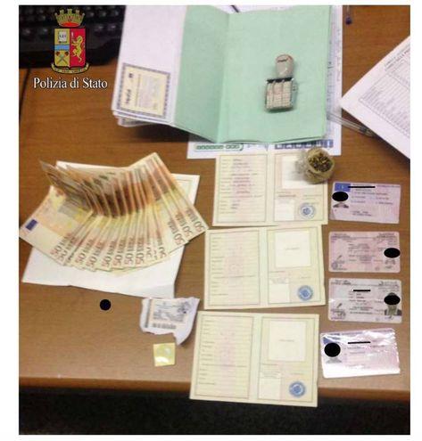 Stamperie per passaporti e permessi di soggiorno falsi: due ...