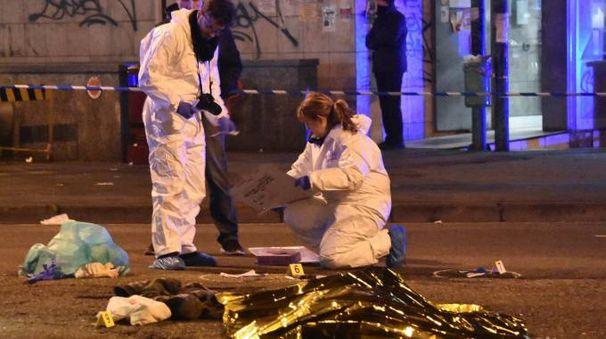 Il corpo di Anis Amri, killer dell'attentato di Berlino (Lapresse)