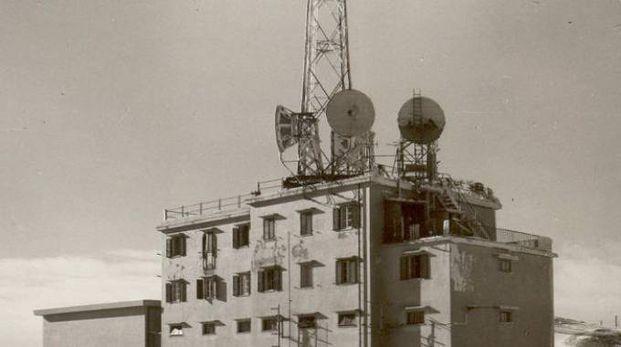 Il Centro Rai di Monte Nerone fu completato nel 1956