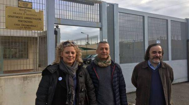 L'avvocato e leader radicale Deborah Cianfanelli con Marco Argenziano e Stefano Petrella