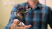 Il robot SALTO (Foto: University of California, Berkeley)