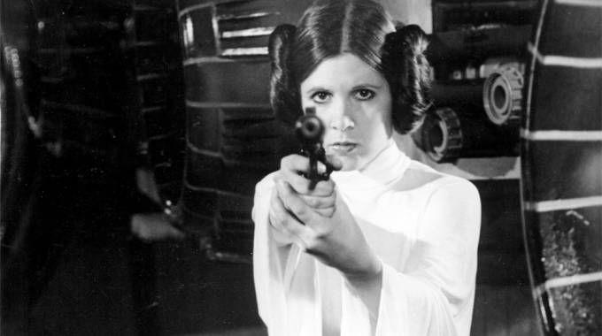 Carrie Fisher nei panni della principessa Leia – Foto: ZUMA - NEWS - GLOBE PHOTOS/Olycom