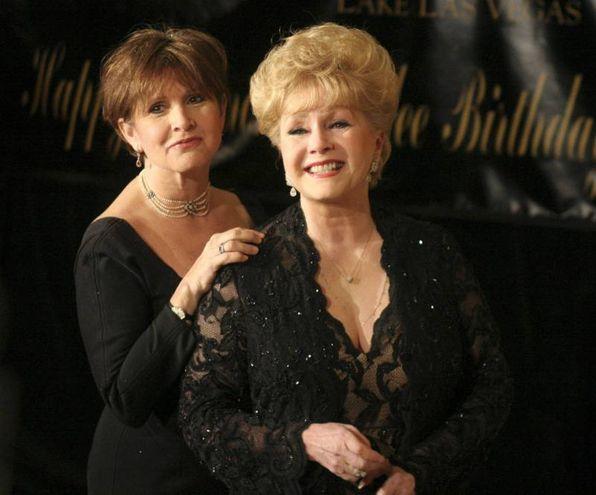 Debbie Reynolds e Carrie Fisher (Olycom)