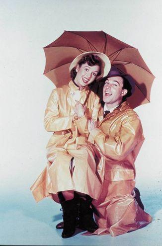 "Dabbie Reynolds in ""Singin in the rain"" (Olycom)"