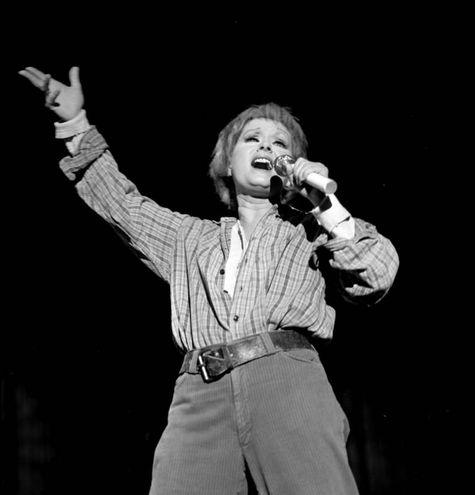 L'attrice nel 1976