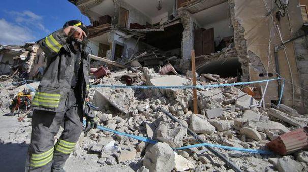 Terremoto in centro Italia (Lapresse)