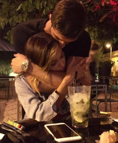 7 - E' amore tra Belen Rodriguez e Andrea Iannone