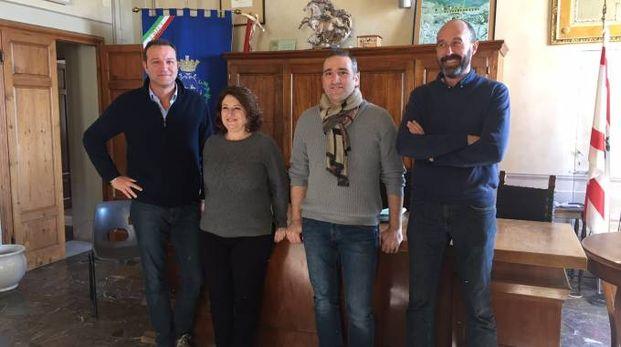 Da sinistra: Genovesi, Lupetti,  Ghimenti e Tordella