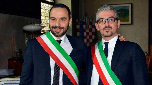 Bertinelli e Palazzi, sindaci di Pistoia e Mantova