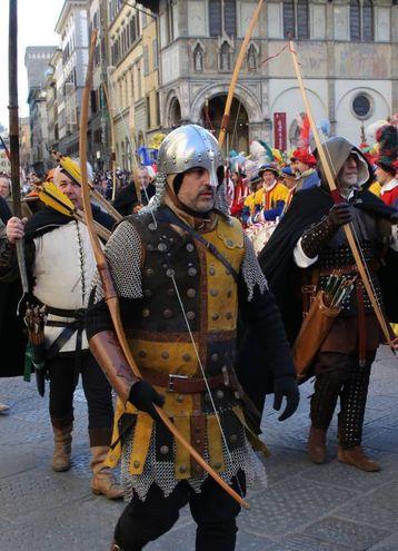 La Cavalcata dei Magi a Firenze (Foto Marco Mori / New Press Photo)