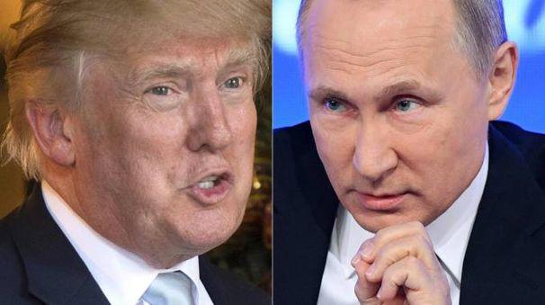 Donald Trump e Vladimir Putin (Afp)