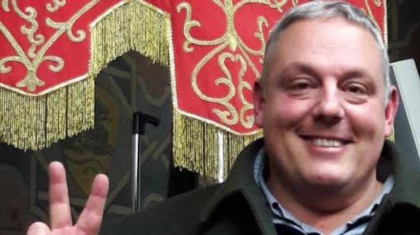 Antonfrancesco Vivarelli Colonna, subito dopo l'elezione in Provincia