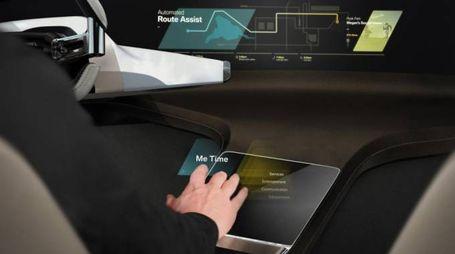 HoloActive Touch, gli ologrammi sulle auto Bmw - (Foto: Bmw)