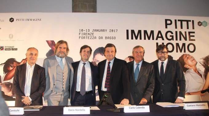 L'inaugurazione di Pitti Immagine Uomo (foto Umberto Visintini/New Pressphoto)