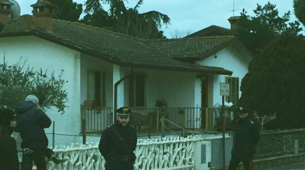 Pontelagorino, la villetta dove sono stati trovati i due cadaveri