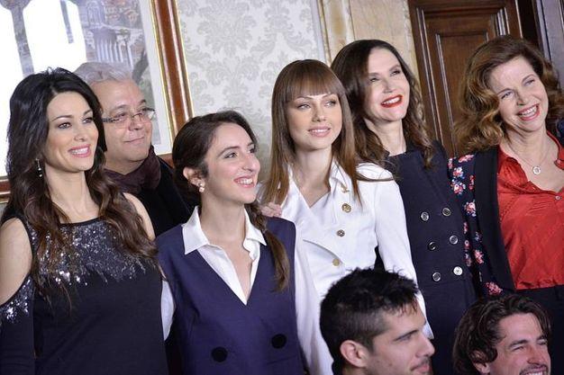 Alcune delle protagoniste de 'Il bello delle donne' (LaPresse)
