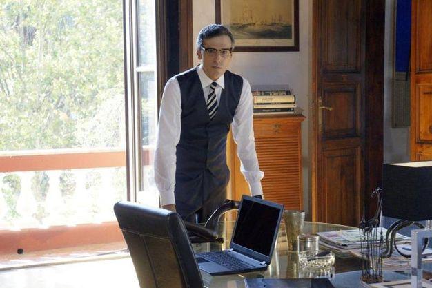 Stefano Dionisi in una foto di scena (Ansa)