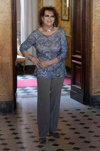 Un'altra immagine di Claudia Cardinale (LaPresse)