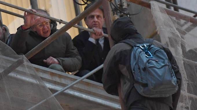 L'ex pm Gherardo Colombo e il pm milanese Alberto Nobii