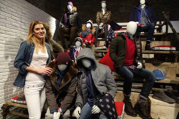 Firenze, Pitti Uomo: Francesca Piccinini (Gianluca Moggi/ New Press Photo)