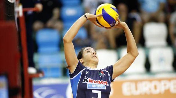 L'azzurra Rachele Morello