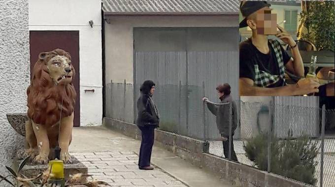 Coniugi uccisa a Ferrara, a sinistra la mamma del killer (Businesspress)