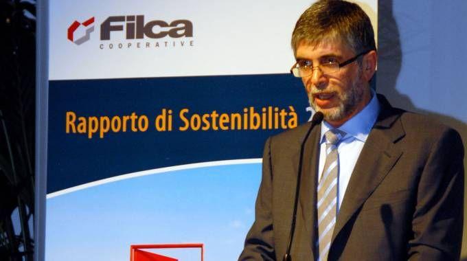 Giacomo Fumeo, presidente di Filca Cooperative
